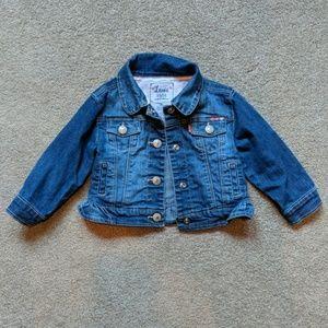 Levi's jean jacket girls